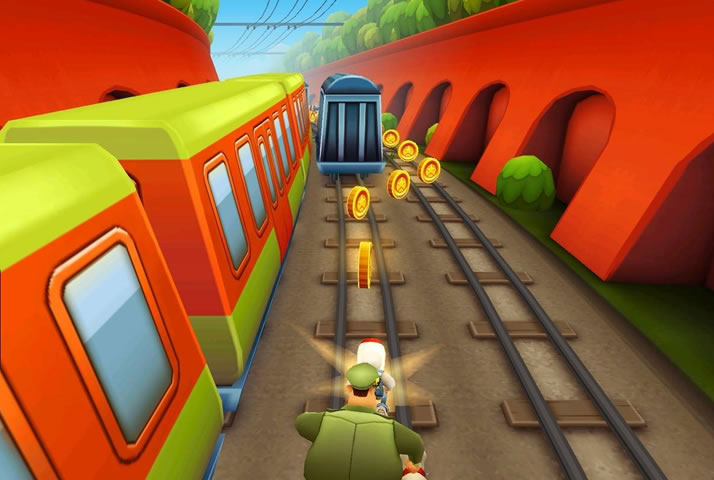 Subway Surfers Game FREE for PC Screenshot