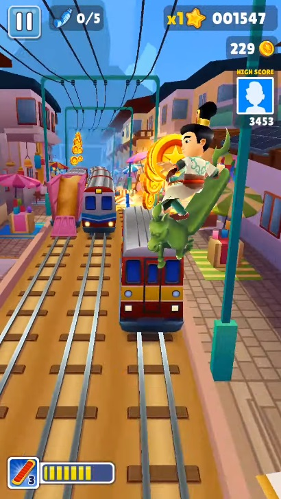 Subway Surfers Flying Horse